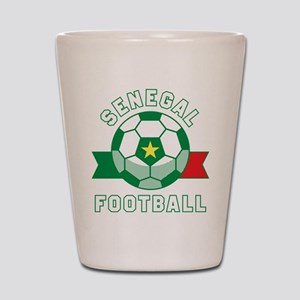 Senegal Football Shot Glass