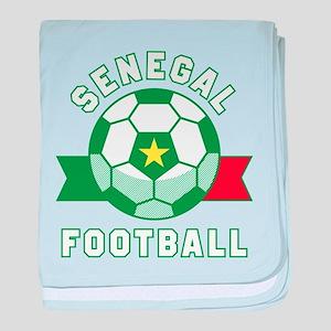 Senegal Football baby blanket