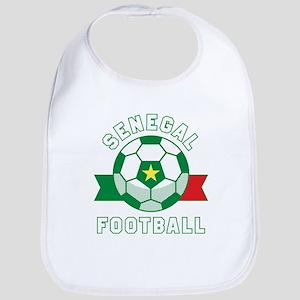 Senegal Football Baby Bib