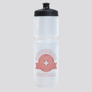Switzerland Football Sports Bottle