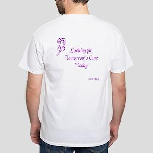Cystic Fibrosis Hope White T-Shirt
