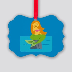 Emojione Mermaid SMH Picture Ornament