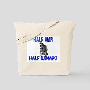 Half Man Half Kakapo Tote Bag
