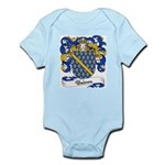 Buisson Family Crest Infant Creeper