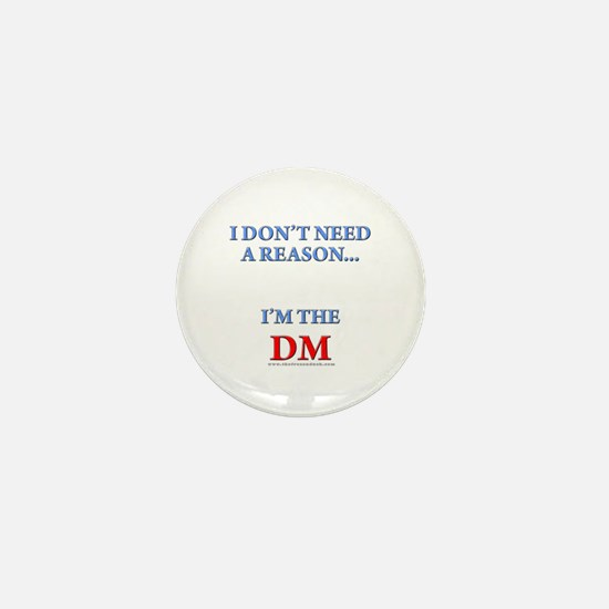 DM - Reason Mini Button