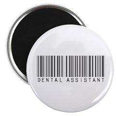 Dental Assistant Barcode Magnet