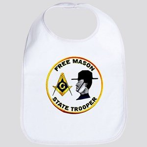 Masonic State Trooper Bib