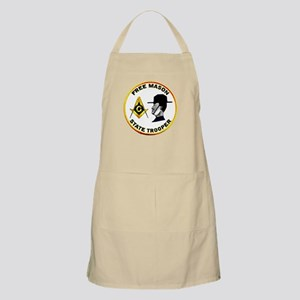 Masonic State Trooper BBQ Apron