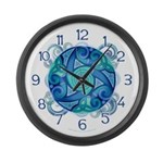 Celtic Planet Large Wall Clock
