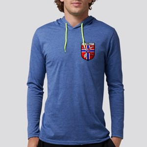 Norway Soccer Shield Mens Hooded Shirt