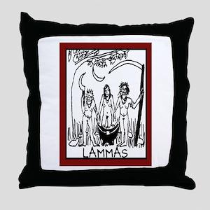 LAMMAS 2 Throw Pillow