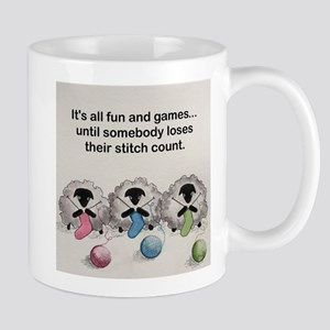 Knitting sheep Mugs