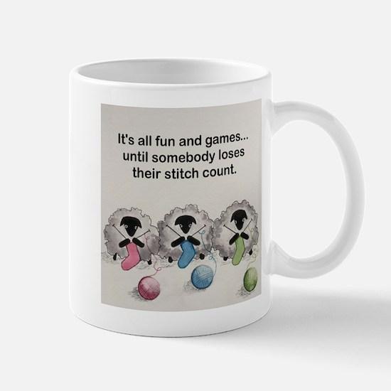 Knitting sheep Mugs