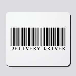 Delivery Driver Barcode Mousepad