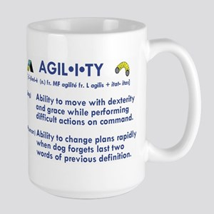 The Definition of Agility Large Mug