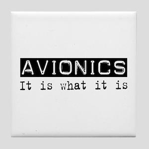 Avionics Is Tile Coaster