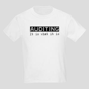Auditing Is Kids Light T-Shirt