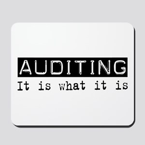 Auditing Is Mousepad