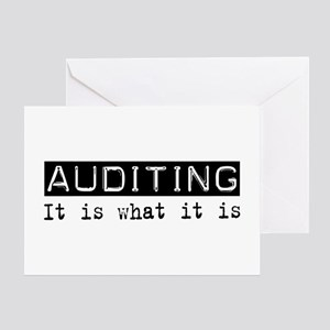 Auditing Is Greeting Card
