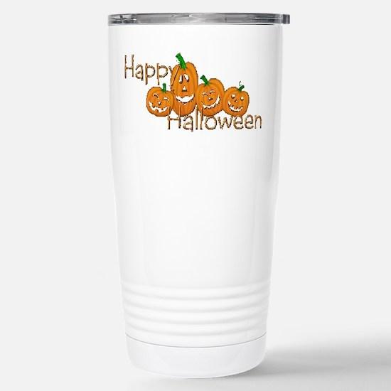 Happy Halloween 2 Stainless Steel Travel Mug