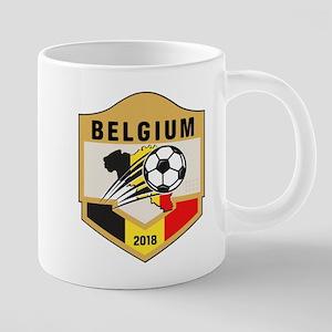Belgium Soccer 2018 Mugs