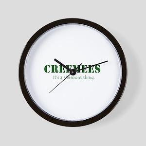 Creemees Wall Clock