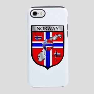 Norway Soccer Shield iPhone 8/7 Tough Case