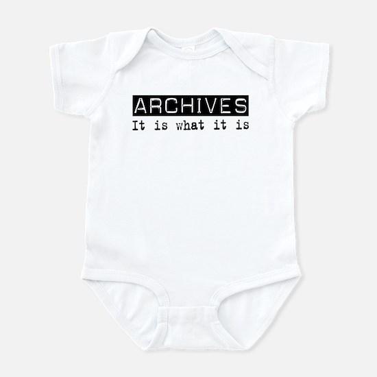 Archives Is Infant Bodysuit