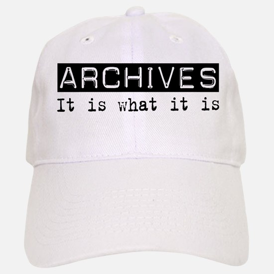 Archives Is Baseball Baseball Cap