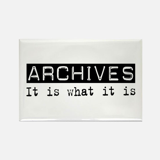 Archives Is Rectangle Magnet (100 pack)