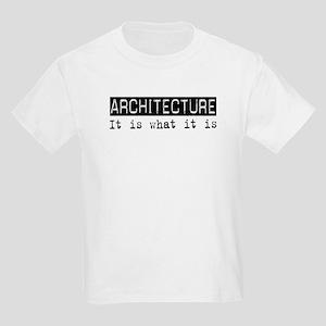 Architecture Is Kids Light T-Shirt