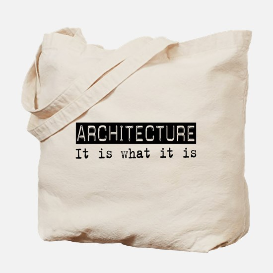 Architecture Is Tote Bag