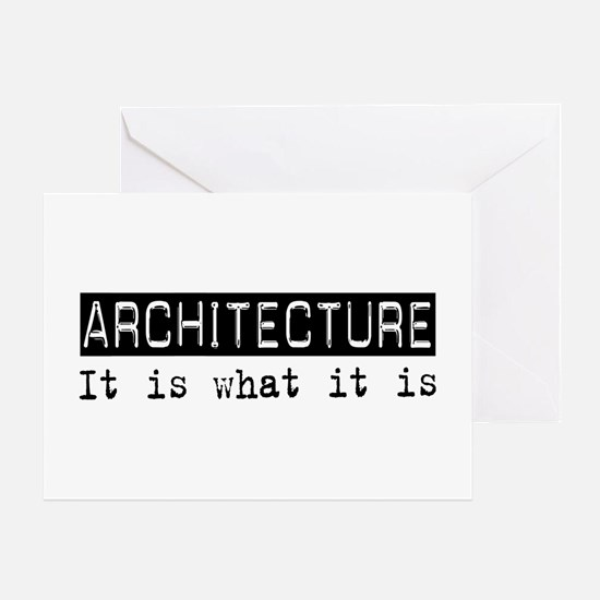 Architecture Is Greeting Card