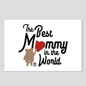The best Mommy in the Wor Postcards (Package of 8)