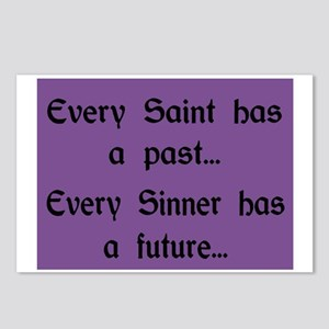 EVERY SAINT HAS A PAST Postcards (Package of 8)