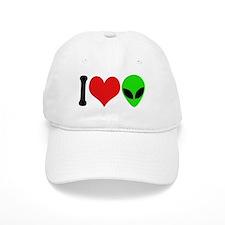 I Love Aliens (design) Cap