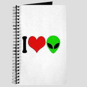 I Love Aliens (design) Journal