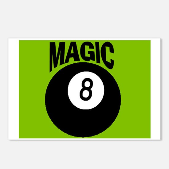 MAGIC 8-BALL Postcards (Package of 8)