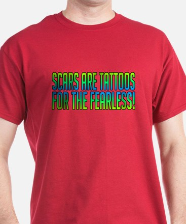 Scars Are Tattoos T-Shirt