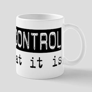 Animal Control Is Mug