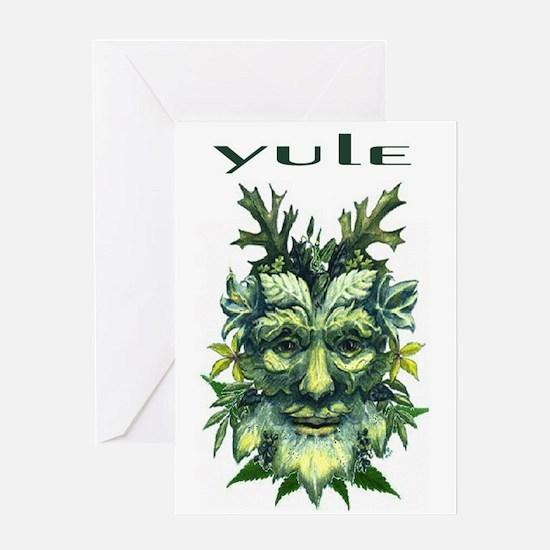 YULE Greeting Card