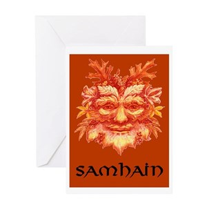 Samhain greeting cards cafepress m4hsunfo