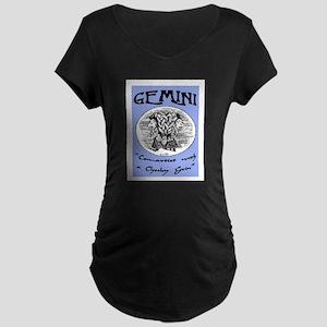 GEMINI Maternity Dark T-Shirt
