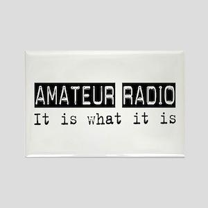 Amateur Radio Is Rectangle Magnet