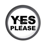 Say Please With This Wall Clock
