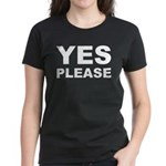 Say Please With This Women's Dark T-Shirt