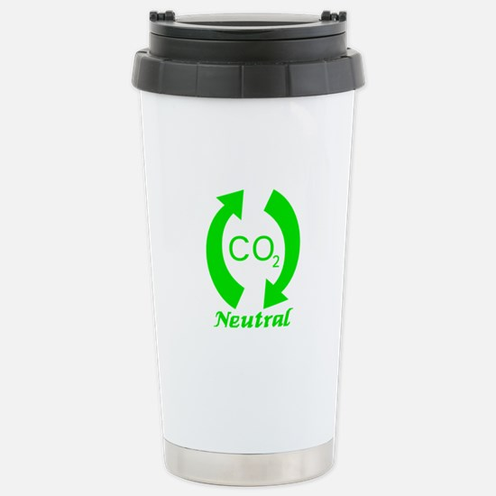 Carbon Neutral Stainless Steel Travel Mug
