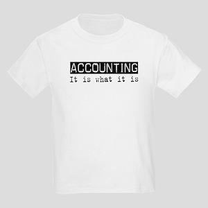 Accounting Is Kids Light T-Shirt