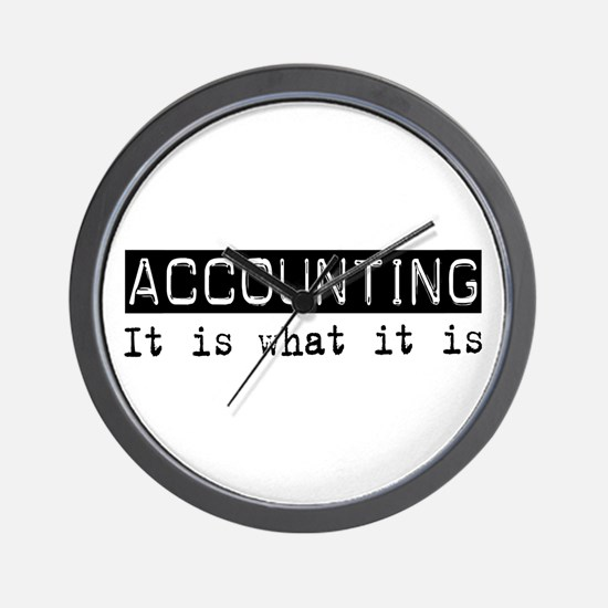 Accounting Is Wall Clock