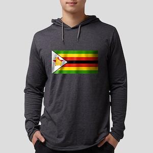 Flag of Zimbabwe Long Sleeve T-Shirt